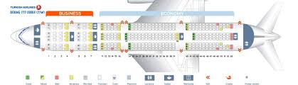 turkish airlines seating chart 777