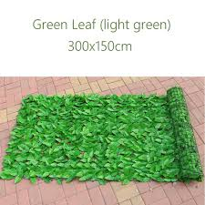 150x300cm Fence Screen Artificial Decorative Leaves Indoor Outdoor Home Green Buy At A Low Prices On Joom E Commerce Platform