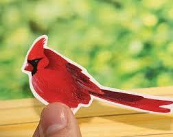Cardinal Decal Etsy