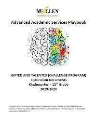 advanced academic services handbooks