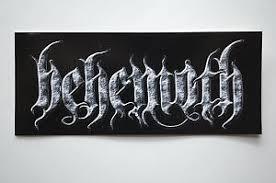 Behemoth Sticker Decal Car Bumper Window Rock Metal Music Apprx 6 X2 5 480 Ebay