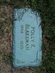 Polly Kelly Fishburn Blakeman (1864-1920) - Find A Grave Memorial