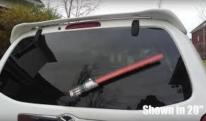 Star Wars Everything Rear Windshield Wiper Lightsabers Geekologie