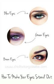 how to make eyes stand out midway a