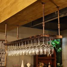 wine rack wine glass rack wall hanging