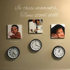In These Moments Time Stood Still Wall Decal Vinyl Wall Etsy