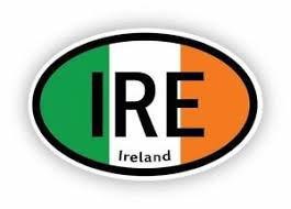Ireland Vinyl Bumper Sticker Decal Laptop Car Wall St Patrick S Day Irish Ebay