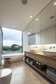 wood concrete contemporary modern