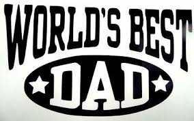 World S Best Dad Father Car Truck Window Laptop Vinyl Decal Sticker 12 Colors Ebay