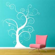 Amazon Com Thin Bare Whimsical Tree Wall Decal Black 22x26 Home Improvement Tree Wall Decal Tree Wall Stickers Vinyl Wall Art Decals