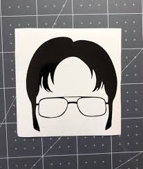 Dwight Decal The Office Decal Car Decals Laptop Decal Etsy