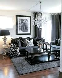 black leather sofa living room ideas