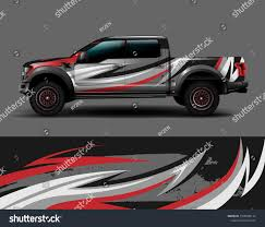 Truck Wrap Car Decal Design Simple Stock Vector Royalty Free 1500040127