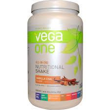 one nutritional shake vanilla chai