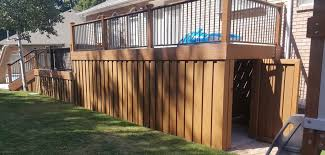 Under Deck Enclosure Archives Trex Fencing The Composite Alternative To Wood Vinyl