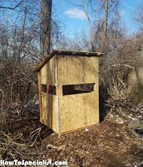 diy 5x5 deer blind howtospecialist