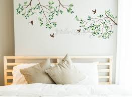 Tree Branch Wall Decals Tree And Birds Wall Murals Pink Tree Etsy