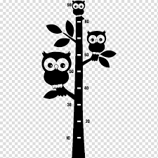 Tree Wall Owl Decal Wall Decal Sticker Poster Child Room Transparent Background Png Clipart Hiclipart