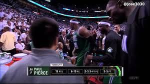 Paul Pierce 3 Pointer Over LeBron James - Celtics @ Heat 2012 NBA Playoffs  - YouTube