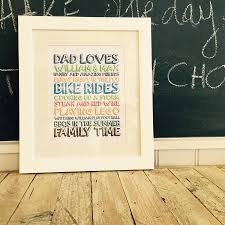 personalised loves frame by pickle pie