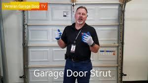 garage door strut veteran garage door