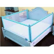 Amazon Com Xiaomei Crib Guardrail Baby Bed Fence 1 5 Children Bed Rail Bed 1 8 M Bed Universal Color Four Sides Of Blue Size 1 52cm Baby