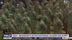 California National Guard on alert ...
