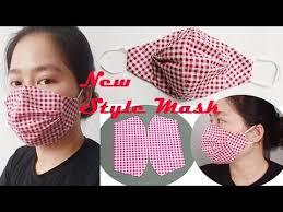 sewing tutorial diy cloth face mask