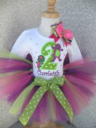 baby bop birthday clothing outfit for s