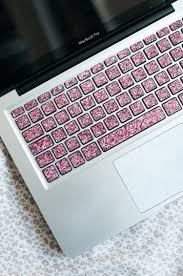 Make Your Home Office Fancy With This Glittering Keyboard Decal Custom Made For Any Laptop In Any Langu Keyboard Decal Macbook Keyboard Decal Macbook Keyboard