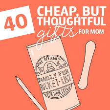 40 but thoughtful gifts for mom