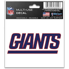 Official New York Giants Car Decal Giants Window Decal Window Decal For Cars Nflshop Com