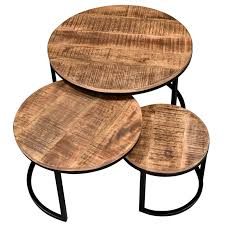 kinzie 3 piece coffee table set