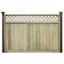 Fence With Lattice Top F1t24dlt16p68 Rona