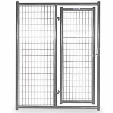Tarter Farm And Ranch Equipment 6 Ft X 5 Ft Heavy Duty Dog Kennel Front Panel Gray At Tractor Supply Co