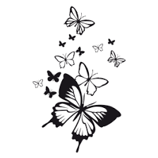 Butterfly Wall Decals Dezign With A Z