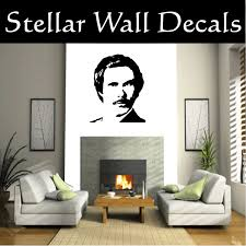 Anchorman Ron Burgundy Famous Icon Vinyl Wall Decal Wall Mural Car Sticker Swd