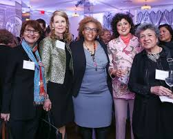 Lucy O'Brien, Jane Borthwick, Sara Raza, Ada Ciniglio at ArtTable's : 24th  Annual Benefit and Award Ceremony / id : 2412500 by Samantha Deitch/BFA.com