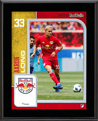 """Aaron Long New York Red Bulls 10.5"""" x 13"""" Sublimated Player Plaque - Soccer  Plaques and Collages at Amazon's Sports Collectibles Store"""