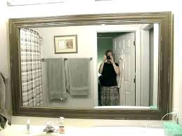 remove large mirror from bathroom wall