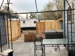 How To Build A Hot Tub Privacy Fence Diy Hometalk