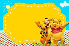 Fiesta De Winnie The Pooh Invitaciones Para Imprimir Gratis Oh