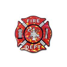 Firefighter Sticker Myherowearsred