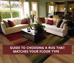 guide to choosing a rug that matches
