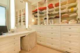 high hat lights with traditional closet