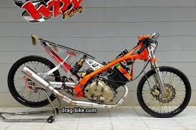 gambar motor drag race satria fu motor