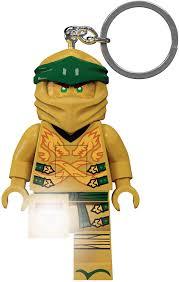 Amazon.com: IQ Lego Ninjago Legacy Gold Ninja Key Light: Toys & Games