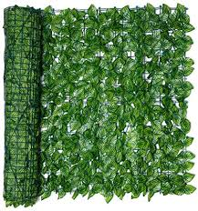 Bstcar Artificial Ivy Green Plastic Artificial Leaf Hedge Roll Trellis Fence Panels Water Proof Wind Proof Privacy Garden Fence Wall Fence Adornment For Wedding Garden Yard 0 5m 3m Amazon Co Uk Garden Outdoors