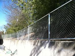 Serrano Fence Son Inc 4 Ft High Top Bottom Rail Chain Link Image Proview
