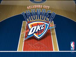 oklahoma city thunder court wallpaper